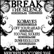 26/10/2005 - Break The Silence