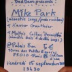 15/09/2006 - Mike Park