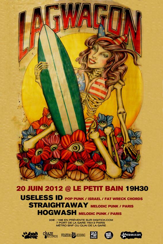 20/06/2012 - Lagwagon + Useless ID